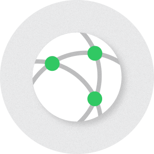 Connected dots - dedicated servers