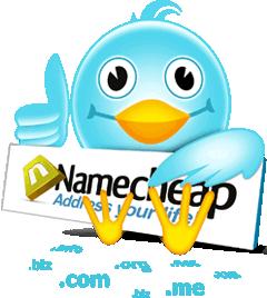 Domain $0.98 dari Namecheap